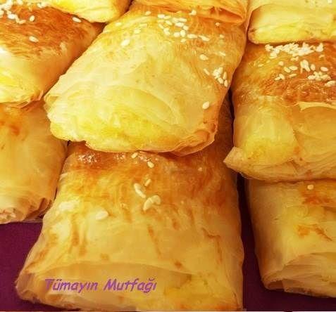 Baklava Yufkasında Patatesli Börek