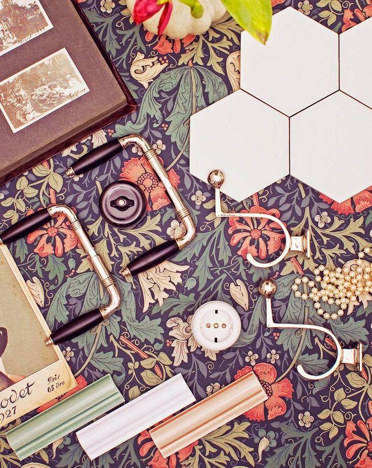 Flex Inredning: Vackert 20-tal och tapeter