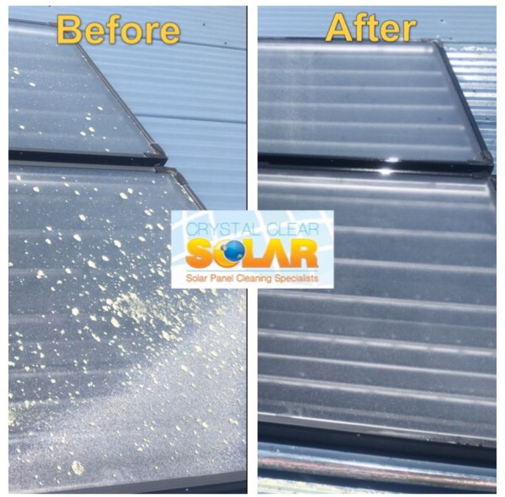 Solar hot water systems need regular cleaning too!  Lichen love to grow on these systems and stop the sunlight from heating your water!