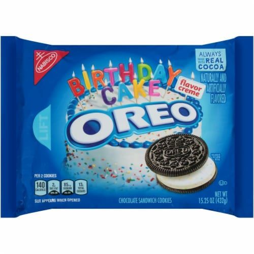 Sensational Oreo Birthday Cake Chocolate Sandwich Cookies 15 25 Oz Oreo Funny Birthday Cards Online Inifofree Goldxyz