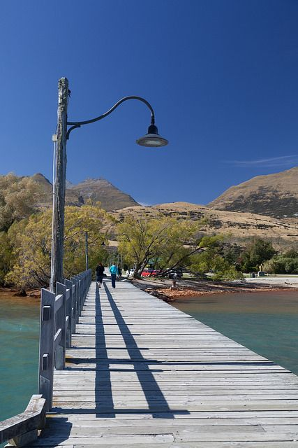 Wharf, Glenorchy Otago New Zealand