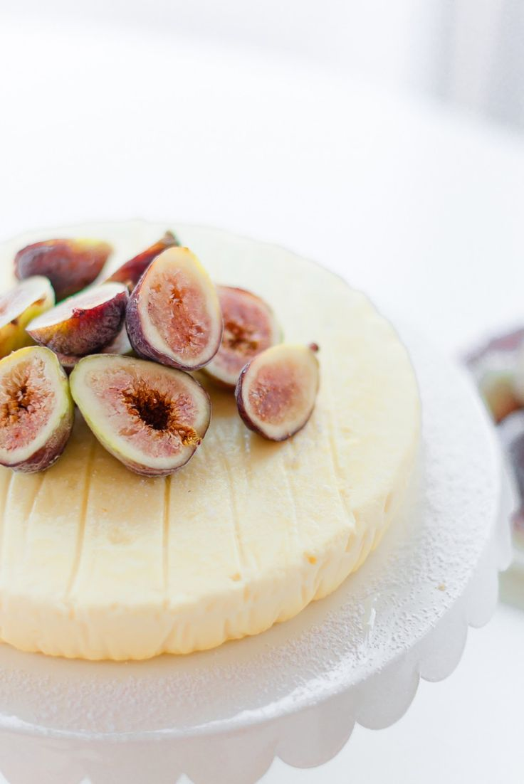 Ricotta Cheesecake with Black Mission Figs