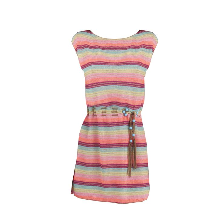 #rainbow #dress for a #beachcouture full of #colors