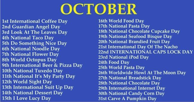 Which Weird National Day Falls On Your Birthday Beth Friends 99 9 Kez Weird Holidays Wacky Holidays National Day