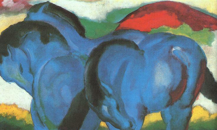 Marc-little blue horses - フランツ・マルク - Wikipedia