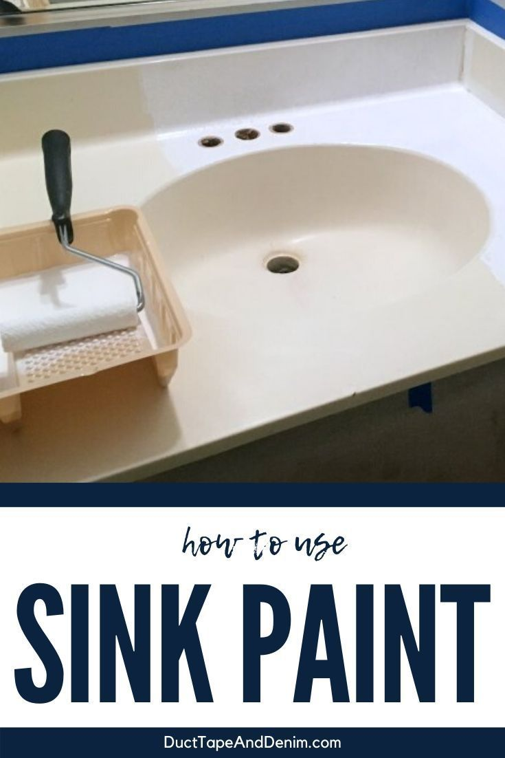 How To Use Sink Paint Painting A Sink Home Remodeling Diy Old Bathrooms [ 1102 x 735 Pixel ]