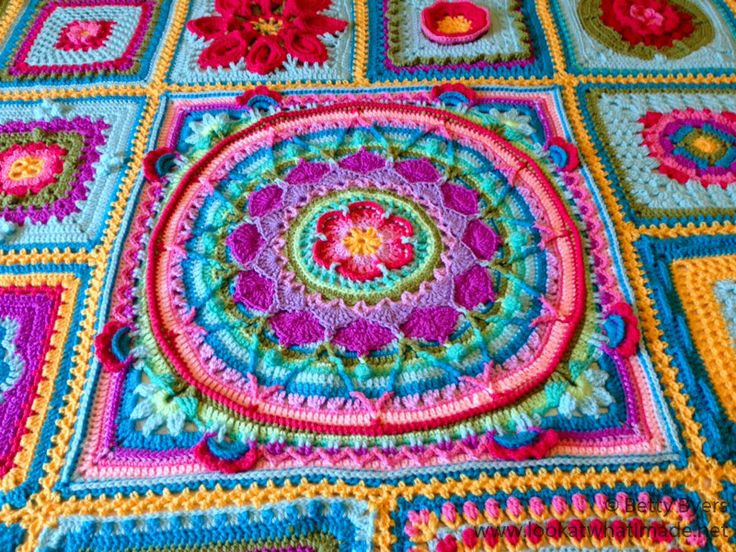Betty's Blanket Crochet Afghan Block a Week CAL 2014