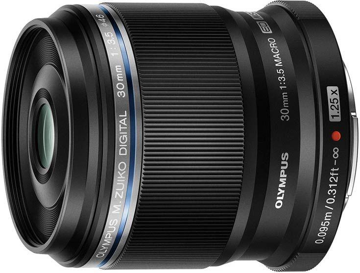 Объектив Olympus M.Zuiko Digital ED 30mm f3.5 Macro предназначен для макросъемки