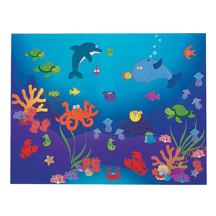 114 Best Images About Bulletin Board Under The Sea On