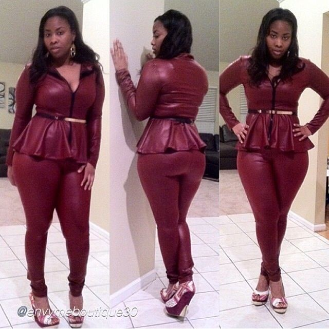 Red Leather Dress Plus Size Style Plus Dress