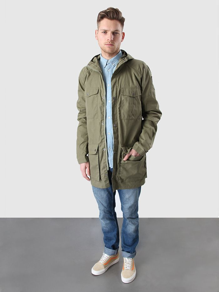 Fjallraven - Greenland Parka Light Green | FreshCotton.com ...