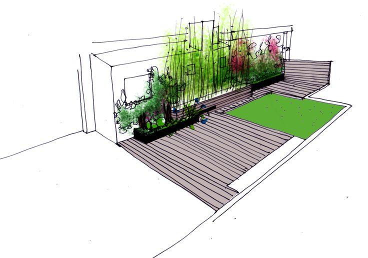 Nuevo proyecto para un jard n en alicante paisajistas for Planos de jardines
