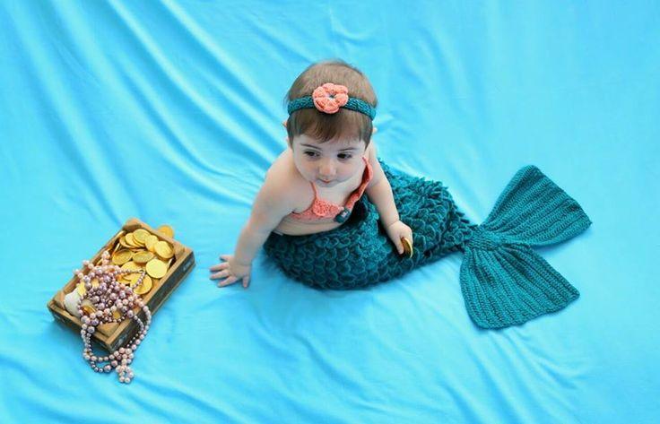 Mermaidcrochet & babygirl