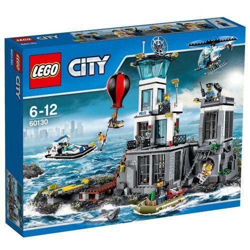 » LEGO 60130 City Police Prison Island – Multi-Coloured
