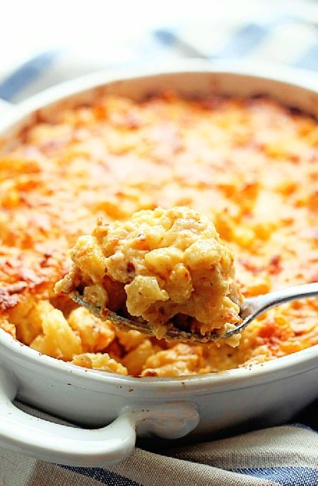 Low FODMAP Recipe and Gluten Free Recipe - Creamy cheese & tomato macaroni