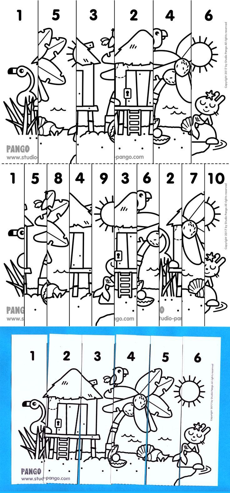 Island numerical puzzle #numérique #6 #10