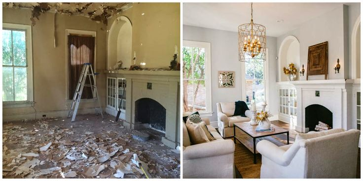 fixer upper before and after living room before and after fixer hgtv search before 566