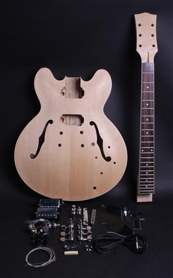ELECTRIC GUITAR KIT- ES-STYLE - Guitar bodies and kits from BYOGuitar