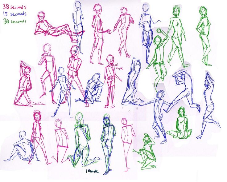 scrabble down the hallways yelling yahtzee, gesture drawing (basics)