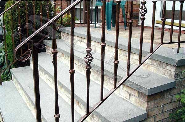25 best ideas about metal stair railing on pinterest - Exterior wrought iron handrails for steps ...