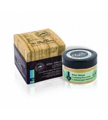 Aftershave creme 40ml. aftershave gel met mint geur voor na het scheren