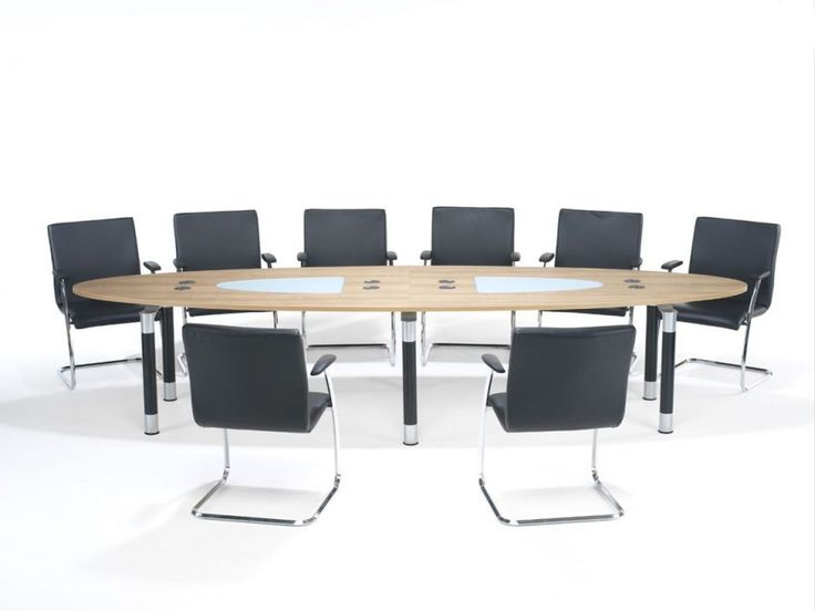 Rexel Elliptical Boardroom Tables