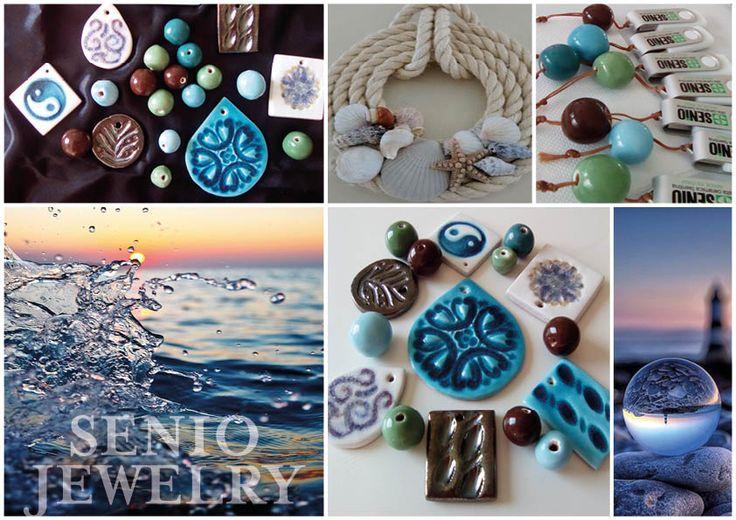 """...Nel blu dipinto di blu..."" Summer Collection 2017 Jewelry By Senio"