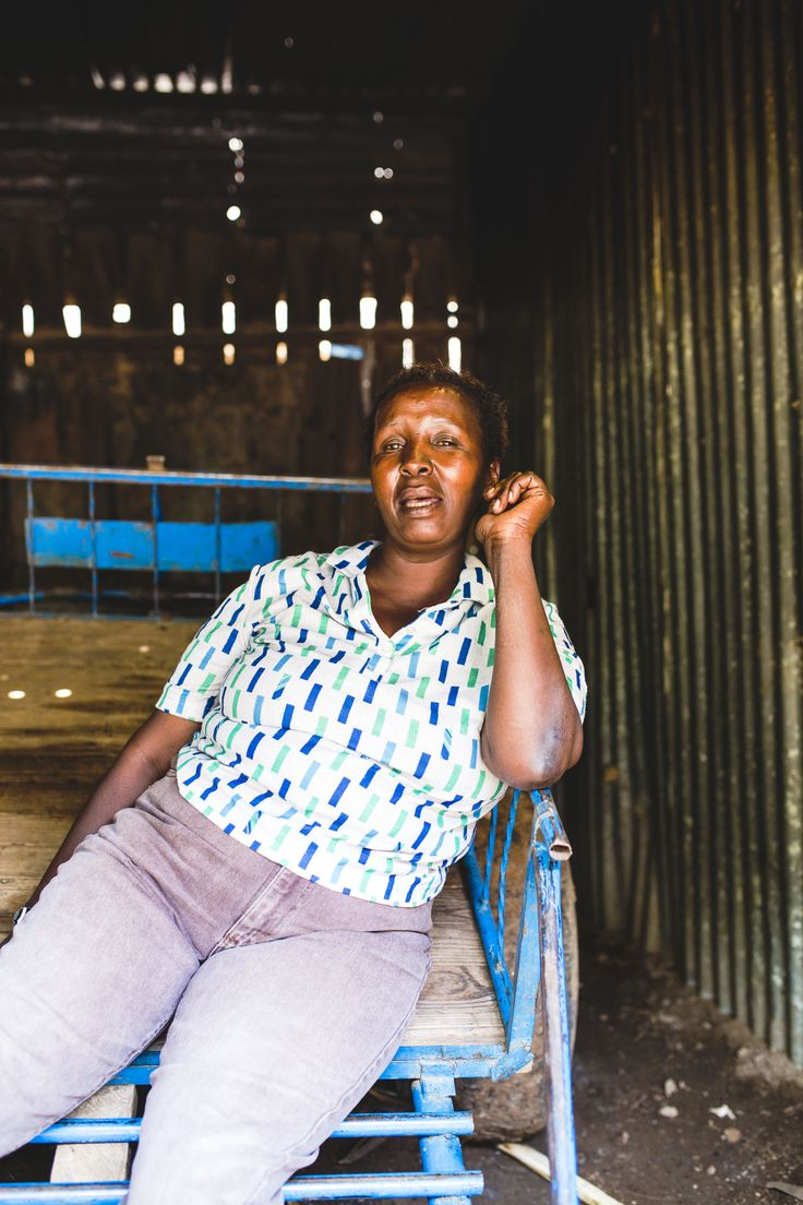 """I need work to earn a living. I dream to own my own house to not rent."" says Sophia, an artisan from Kenya © ITC Ethical Fashion Initiative & Louis Nderi"