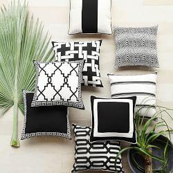 Outdoor Toss Pillows & Outdoor Patio Pillows | Williams-Sonoma