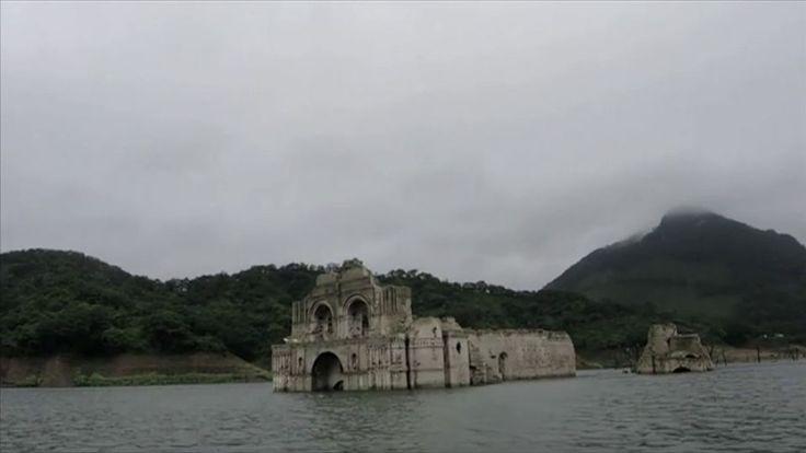 Kirke fra 16. århundrede dukket op midt i flod | Nyheder