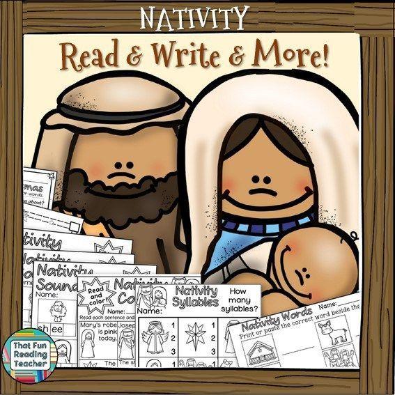 Nativity #ReadAndWriteAnd More! K-2 $