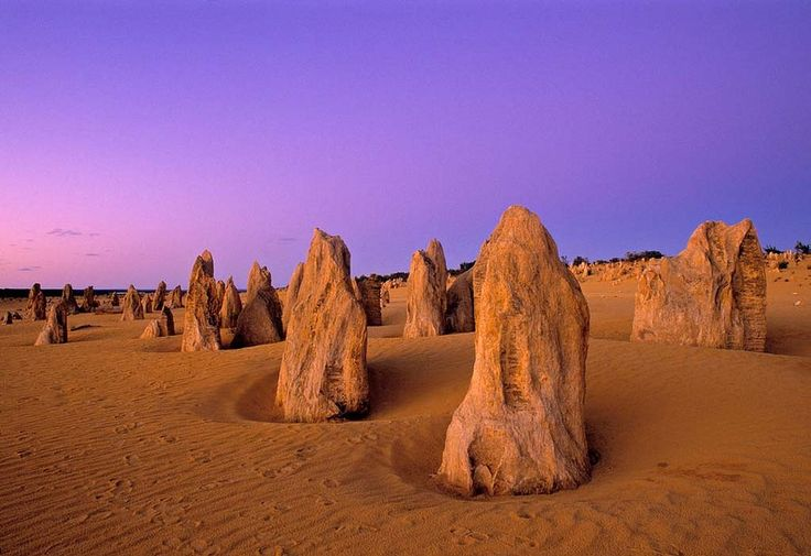 Wonder which planet you're on at The Pinnacles. Cervantes, Western Australia