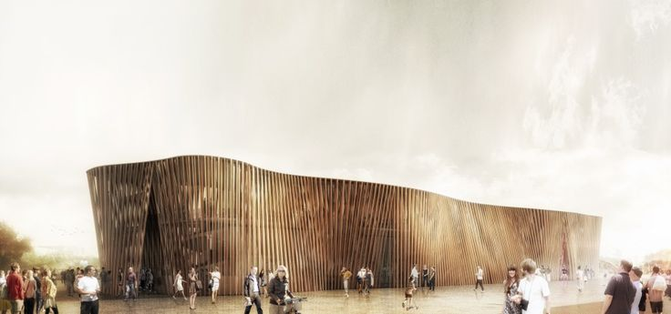 Polish Pavilion at Expo 2015 in Milan competition entry by jrk72