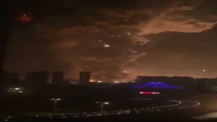 Massive Explosion Rocks China - Visible From Space