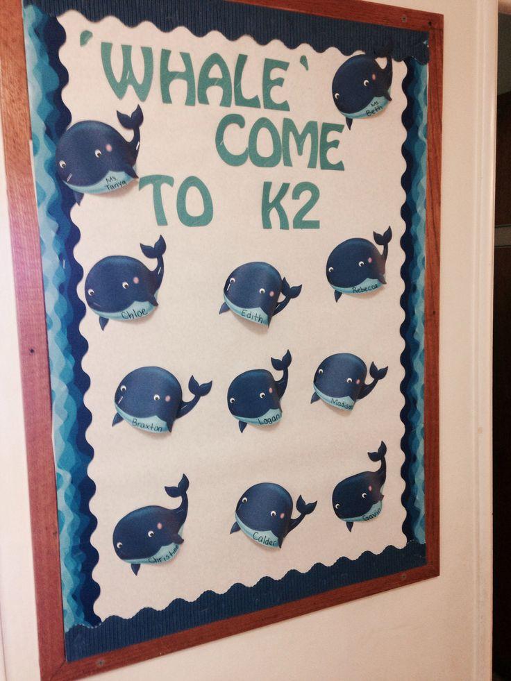 Whale Classroom Decor : Best bulletin board ideas images on pinterest