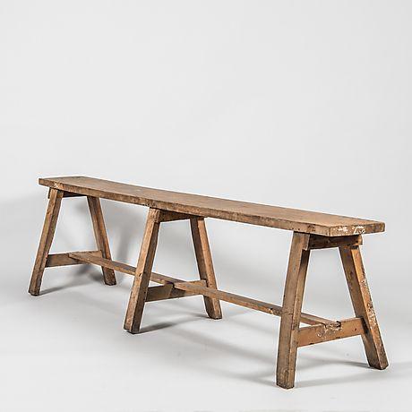 TRÄDGÅRDSBÄNK. Möbler - Trädgårdsmöbler – Auctionet