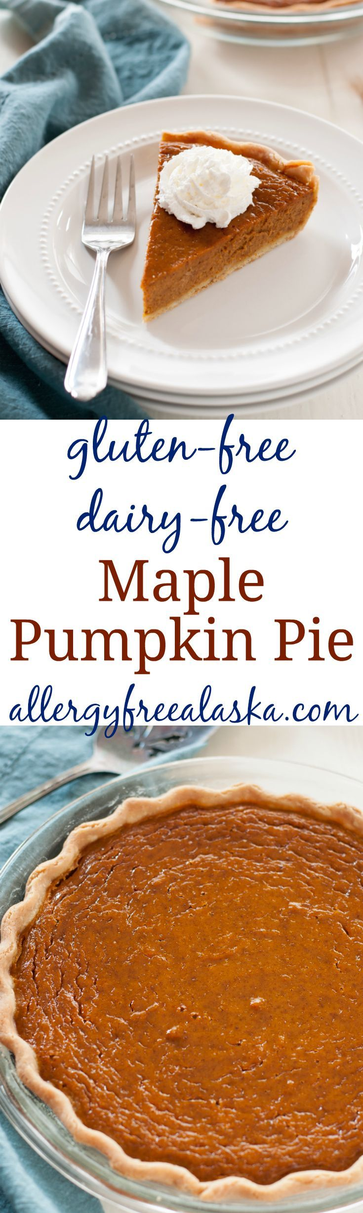 This mouth watering Maple Pumpkin Pie is a hit at every holiday gathering. No one will guess it's gluten-free, let alone dairy-free and refined sugar-free!