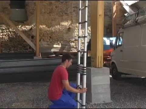Vidéo de présentation de l'échelle télescopique Bigfoot