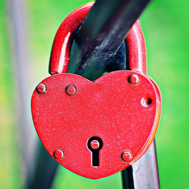 My heart is under Lock & Key
