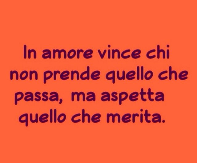 In amore ...