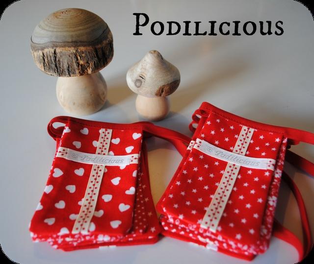 Home made Danish flags for Christmas and birthday...
