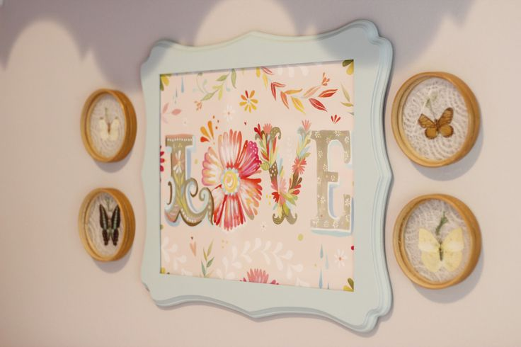 Vintage-inspired wall decor for nursery - love this framed print from @Etsy!