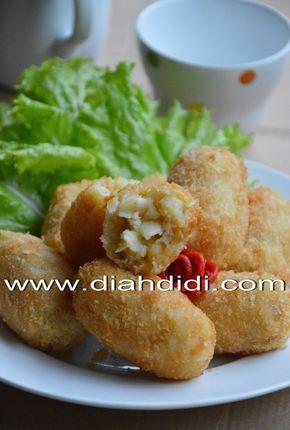 Diah Didi's Kitchen: Kroket Makaroni..Yummy..! ^^