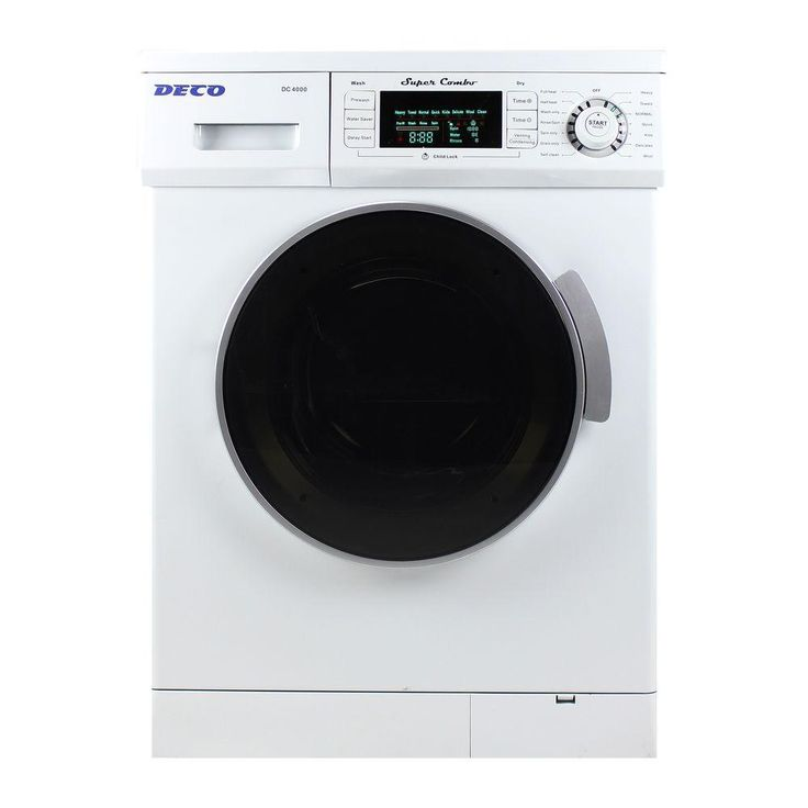 deco allinone 16 cu ft compact combo washer and electric