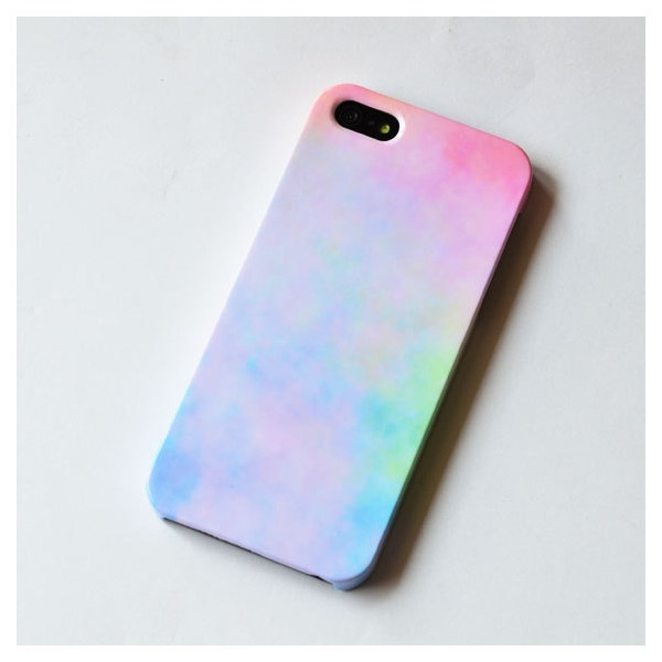 Pastel iphone 5 case , sweet iPhone case , cute iphone 5 case, Hard... ($24) ❤ liked on Polyvore
