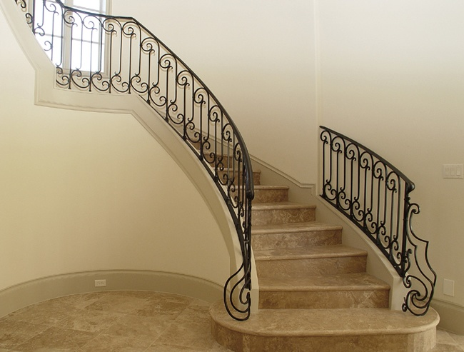 163 Best Images About Iron Stair Rails On Pinterest