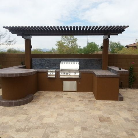 11 best BBQ island images on Pinterest | Outdoor cooking ... on Backyard Patio Grill Island id=14848