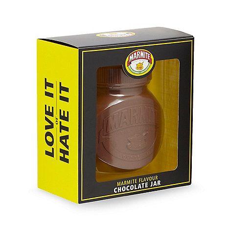 Debenhams Marmite flavour chocolate jar | Debenhams