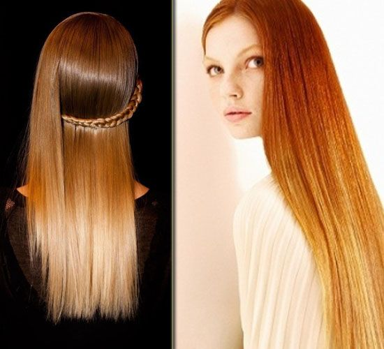 New Hair Colors 2014: Sombré for a Softer Transition red brown Sombré hair colors