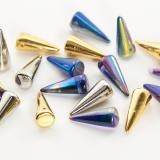 Spikes! CZECH GLASS | Eureka Crystal Beads